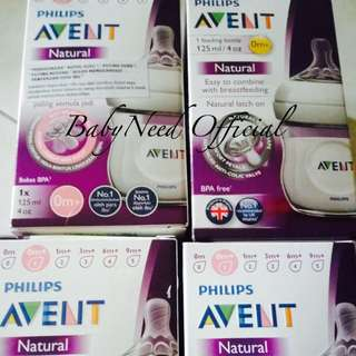 🆕Avent Natural 125ml/4oz (combo 4pcs)