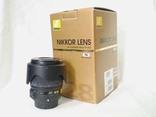 Nikkor 28mm f/1.8G Nano