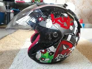 Helmet KYT (DJ MORU)