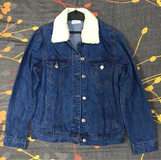 Bench Denim Jacket with Detachable Fur