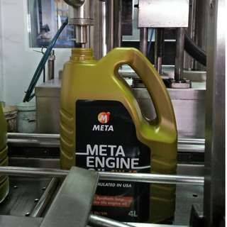 Top Selling Engine Oil in Giant! 4L Meta Engine Oil Fully Synthetic SAE 5W-40 API SN/SM