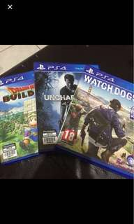 used ps4 games, prefer swap with ghost recon wildland