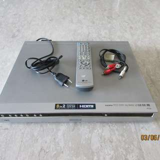 LG RH7926W HDD/DVD Recorder with Memory Card Slot