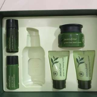 Innisfree The Green Tea Seed Serum Trial Kit