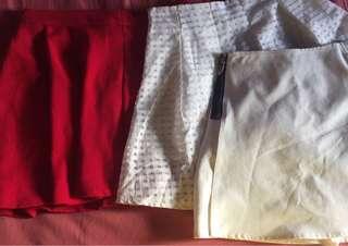 Bundle sexy skirt 80each