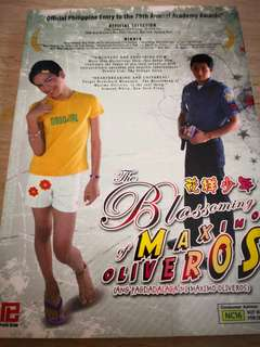 The Blossoming Maxim Oliveros DVD