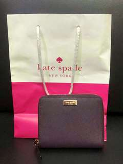 NEW AUTHENTIC Kate Spade Plum Wallet