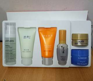 Amore Pacific Skin Care Set