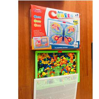 ARTS CRAFTS playset for kids boy/girl