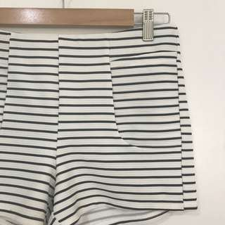 Casual Classy Striped Shorts