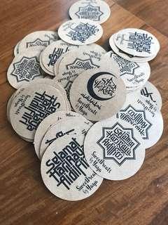 Hari raya atickers labels for cookies kueh goodies