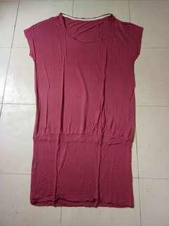 Large Old Rose Dress
