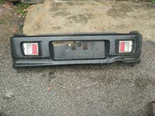 L9 move aerodown Rear Bumper For kenari