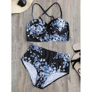 Floral Underwire Bikini TG