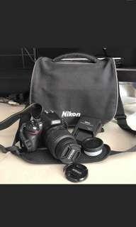 Nikon D5100 DSLR ori battery & charger