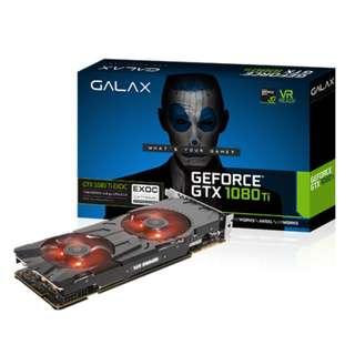 🚚 GALAX GeForce® GTX 1080 Ti EXOC 11GB Black