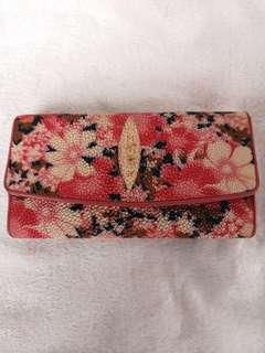 Preloved Stingray Skin Wallet