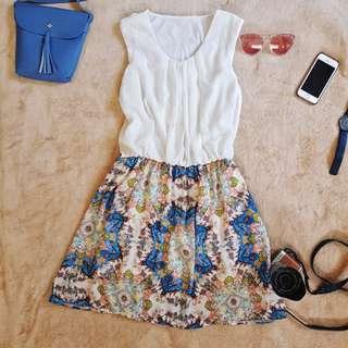 Chic printed dress