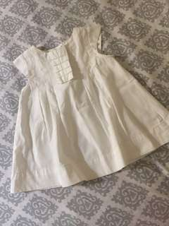 GINGERSNAPS White Sunday dress
