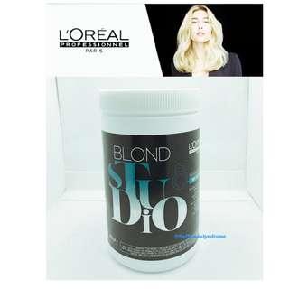 L'Oréal Multi Techniques Blond Studio Hair Lightening Powder 500gm