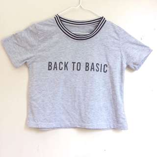 Back to basic t shirt