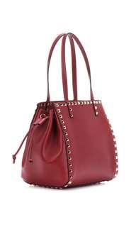VALENTINO Valentino Garavani Rockstud Small leather tote