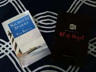 SALE!!! Nicholas Sparks Book and Art of Hugot