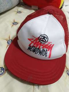 Stussy trucker cap