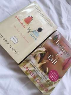 Eleanor&Park and Before i Fall book bundle