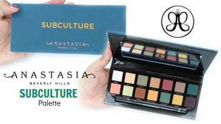 Subculture Eyeshadow By Anastasia Bev Hills
