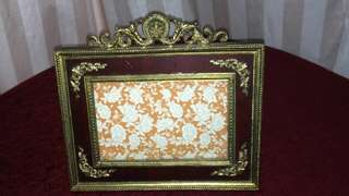 Heavy Metal Antique  Look Frame