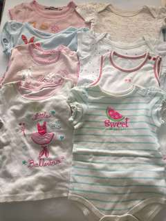 Baby girl sets9-12 mos