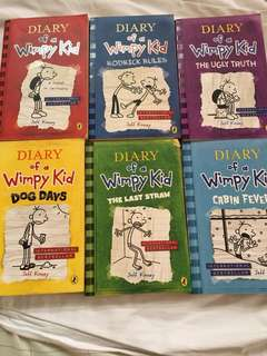 Diary of a Wimpy Kid (set)
