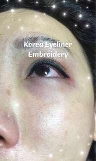 Korea Inner Eyeliner Embroidery
