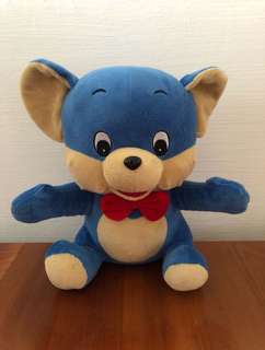 Blue Mouse Stuffed Toy