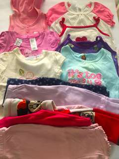 6-12 mos sets for girls