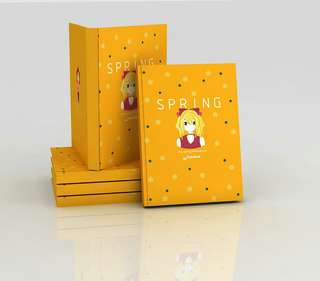 "Notebook (Agenda) ""SPRING"" »Original Edition«"