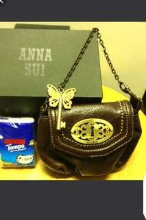 🆕anna sui leather pouch