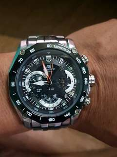 Casio edifice ef500 original stainless steel watch