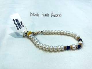 Krishna Pearl Bracelet