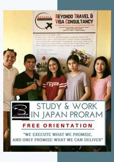 STUDY & WORK IN JAPAN