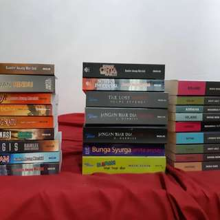 Novel preloved condition tip top 0166589961
