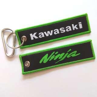 Kawasaki Motorbike Ninja Keychain