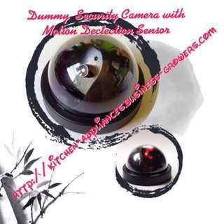 Dummy Security Camera with Motion Detection Sensor  Flashing Red LED Real CCTV Surveillance Camera Lookalike
