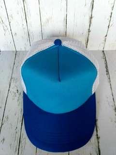 Topi Tracker biru baru