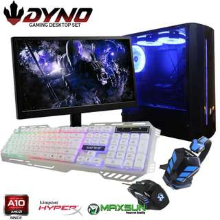 DYNO DESKTOP AMD A10-4600 COMPUTER PACKAGE K