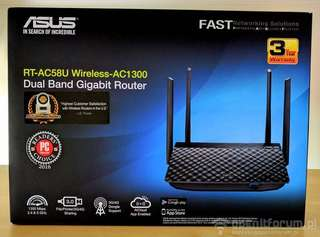 Asus RT-AC58U Dual Brand Router