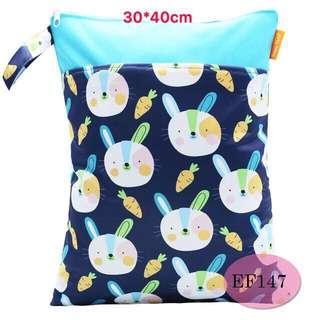 ✅ready stock- double zip wet bag/ diaper bag /waterproof bag