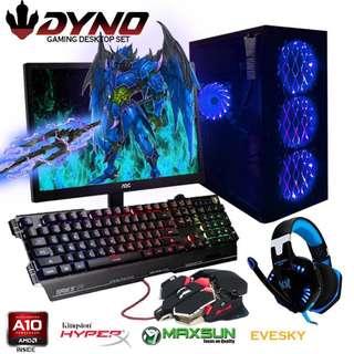 DYNO Desktop AMD A10-4600 Gaming Computer Package B