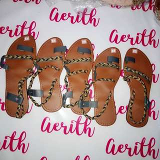 Braided Sandals CLEARANCE SALE sizes 5,6,7,8